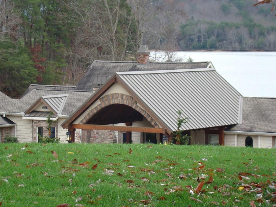 Charming Dark Bronze Mechanically Seam. Metal Roofing Knoxville Tn ...